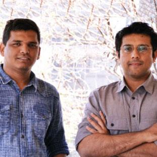 (L to R) Himanshu Parmekar & Mikhail Pinto,Co-Founders