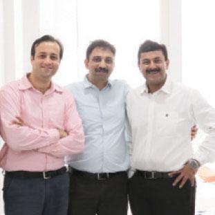 TapanKapoor, Manish Gupta & Nitin Jain,Co-Founders & CoreFounding TeamMember