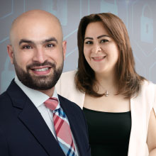 Mohamed Saieed & Reem Shehada,Co-Founders