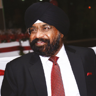 Inderpal Singh,  Founder