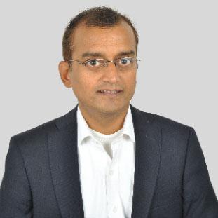 Milind Dikshit,Corporate VP,   Infrastructure Services.