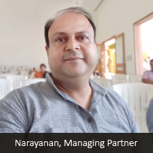 Narayanan,Managing Partner