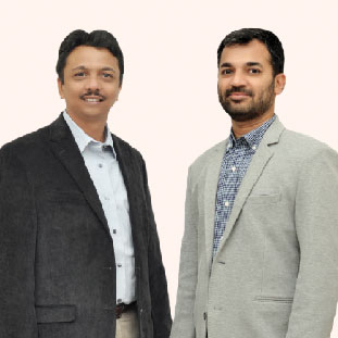 Sarvesh Mutha & Ankur Naik,Directors & MD