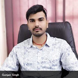 Gunjan Singh,Founder