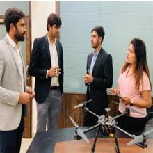 Akhilesh Tripathi, CEO, Shadman Hussain, CTO,Ashwini Arjunkar, CMO, Atishay Jain, Head Of Operations