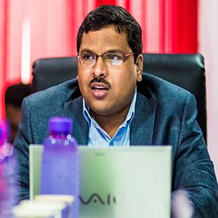 A. Bharat Kumar,Managing Director