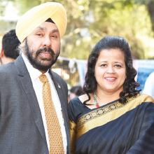 Satnam Singh Sandhu & Jasveer Kaur Sandhu, Directors, Dilip Kumar Mishra, CEO