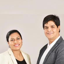 Khurshid Alam, Founder & CEO ,Waheeda Khan, Co-Founder