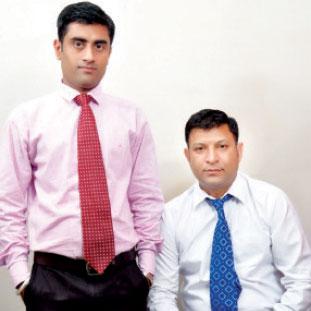 Rajindra Bhandari & Randeep Kapoor,Co-Founders & COO