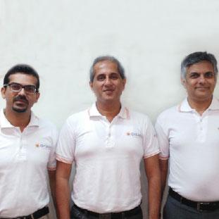 Sachin Jain, Yeshwant Rao&Sameer VShah,CEO, MD & Chairman