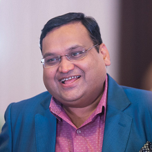Udesh Kejriwal, Managing Director