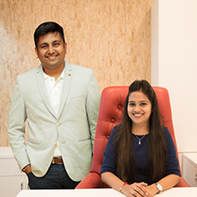 Jaykumar Rathod, Founder & Parita Rathod, Director,