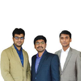 Harsha Prasanna,  Raj Vigenesh & Manivanna,Co-Founder & CEO