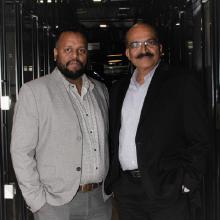 Dineshbabu Asokkumar COO,Lakshminarayanan Found & CEO