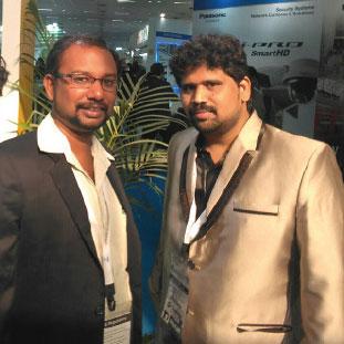 (L to R) A. Ahamed Ali, Partner,Dr. Sham K M, Founder