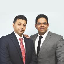 Samrat Parasnis &  Ronak Rajan Founders & Directors,