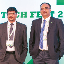 G.S. Bhati, Managing Director,Ajay Josh, CEO