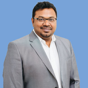 Rishi Agarwal,Managing Director - India & Global Platform Services