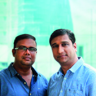 Karunakar Jangam & Bhaskar Ghosh,Co-Founders