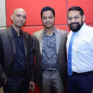 Saeed Shaikh, Azharuddin Sayyed & Amit Apte,Co-Founders