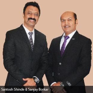 Sanjay Borkar & Santosh Shinde ,Co-Founders