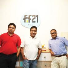 Rahul Baliga, Ajay Nemani, Arun Nemani,Co-Founders