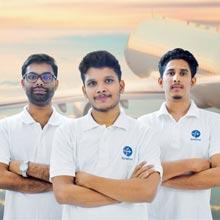 Yajnesh T, CEO/Co-Founder,Muhammad Jaseel S, CPO/Co-Founder Vishal Vijay, CTO/Co-Founder