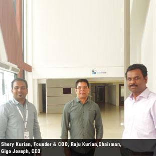 Raju Kurian,  Shrey Kurian,  Gigo Joseph ,Chairman,  Founder & COO,  CEO