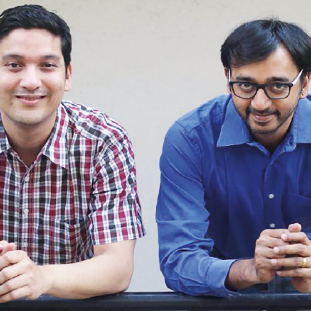 Vivek Iyer, Co-Founder & Business Lead,Shuhaid Lambe, Co-Founder & Technology Lead
