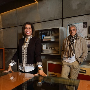 Devika Khosla, Creative Director & Co-Founder,Raj Khosla, MD & Co-Founder