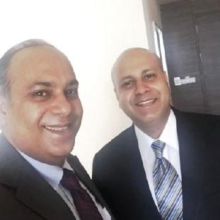 Pankaj  Narula & Puneet  Narula,Director - Marketing & Business Development &  Director - Projects & Technical Head