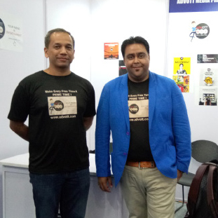 Mayank Khanna, Co-Founder& Media Expert,Kaustubh Patekar, Co-Founder &Technology Specialist
