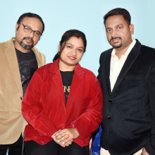 Sanjoy Sen Gupta, General Manager, Swastika Sen Gupta Founder & CMD,Amit Modak, General Manager