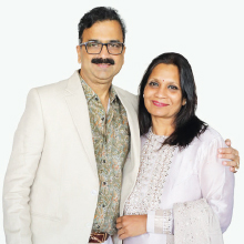 Milind Sabnis & Manisha Sabnis,  Founders & Directors