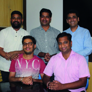 Vikram,Co-Founder, Saurav, Co-Founder,&VinodAchanta, Co-Founders