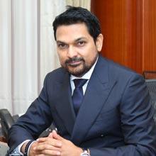 Dr Ajeenkya DY Patil,President