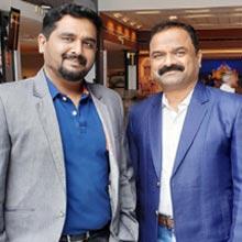 Prashanth T S, Managing Director,Venkkattramm Raju, COO