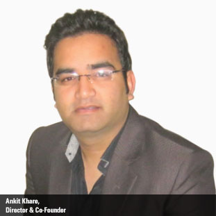 Ankit Khare,Co-Founder & Director