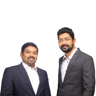 Mohan Baby Kurian & Managing Director ,Ginto Thampi & CEO & Director Marketing