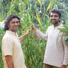 Gopalbhai Sutariya& Gopeshbhai Sutariya,Founders, Bansi Gir Gaushala