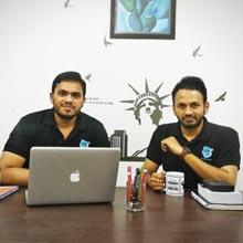 Prashant Janadri & Naveen Ramachandra,Founders
