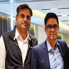 Gauravendra Shukla, Founder & CEO,Sandip Yuwanati, Co-Founder & COO