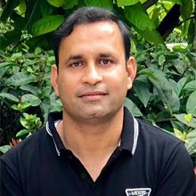 Manish Bhandari,Founder