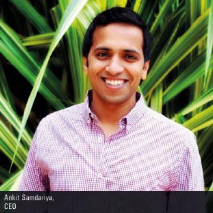 Ankit Samdariya,CEO