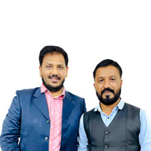 Dhavalsinh M Bihola, Co-founder & Chairperson of Board of Director,Varun B Parikh, Co-founder & CEO