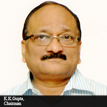 K.K.Gupta, Chairman