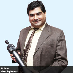 JK Arora,Managing Director