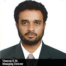 Vinayraj K M,Managing Director