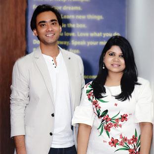 Manas Mrinal & Shailaja Rao,Co-Founders