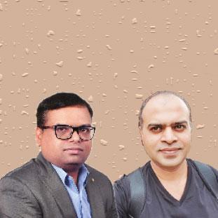 Navin Mandal & Vikas Deo, Co-Founders